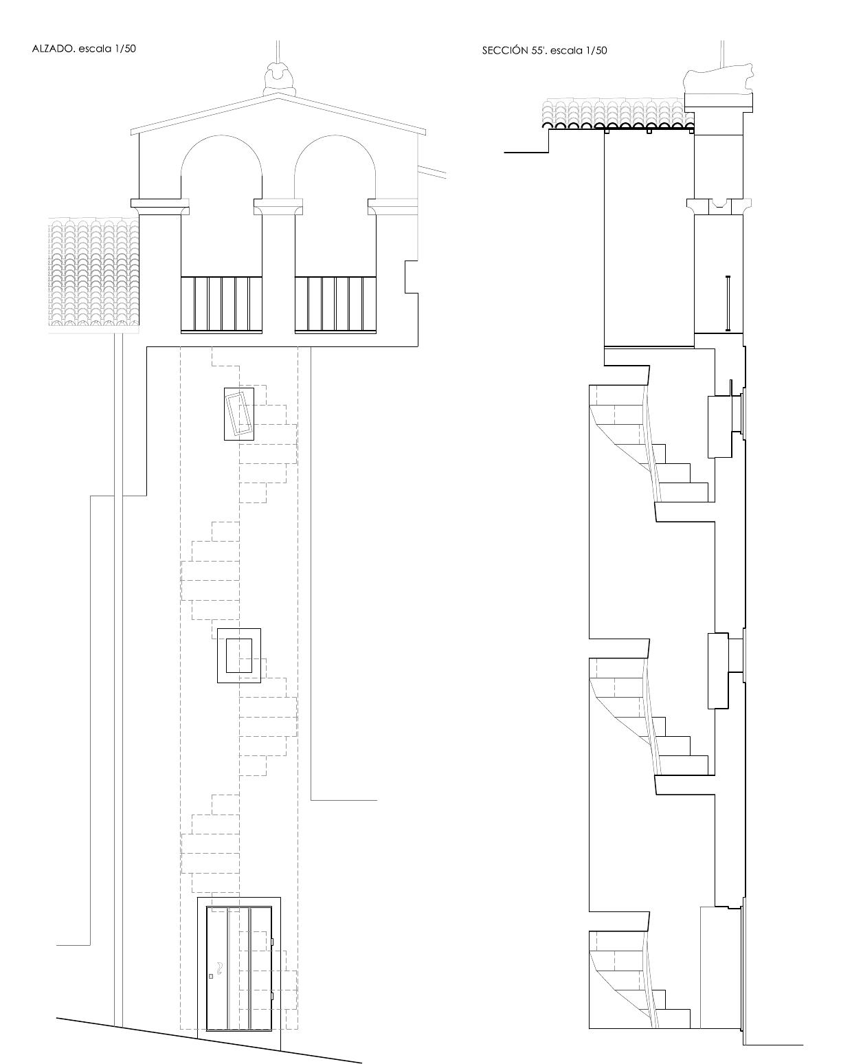 Plano campanario de San Xoan